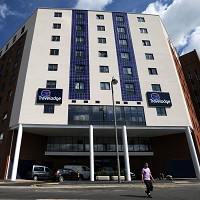 Travelodge hotel in Uxbridge as the Budget hotel chain revealed a list of items left behind by guests in 2012. One female guest forgot her breast implants and another left a pet python behind