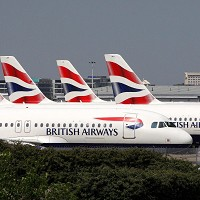 An automatic check-in service for passengers is being tested by BA