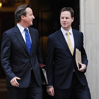 David Cameron and Nick Clegg have taken their respective families abroad for their summer holidays