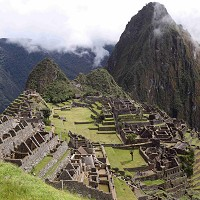 Machu Picchu features as a must-see destination in Intel's Seven Visual Wonders of the World