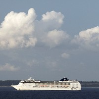The cruise ship MSC Opera suffered a power failure off the coast of Sweden (AP)