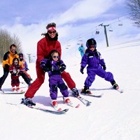 Skiing remains a popular pastime