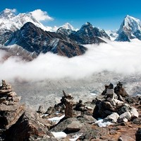 Peaceful: but Nepal is introducing tighter controls on Mount Everest expeditions after a scuffle between European climbers and a group of Sherpas
