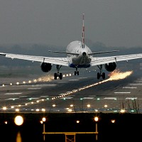The six UK airports run by BAA handled an increased number of passengers last month