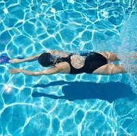 Women who swim during pregnancy may risk increasing the chance of their child developing eczema and asthma later in life