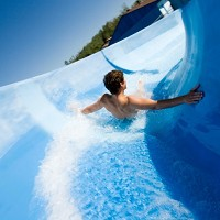 Holidaymakers should take care when they're using waterslides
