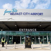 George Best Belfast City Airport which is getting seven new routes to continental Europe
