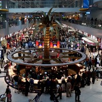 A General view of Dubai International Airport's Duty Free shopping mall