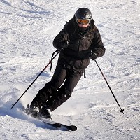 Eye experts have urged skiers to protect their eyes, to avoid the risk of snowblindness