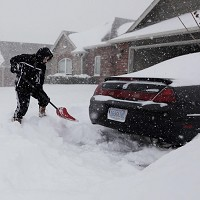 Parts of Oklahoma have been hit by heavy snow (AP Photo)