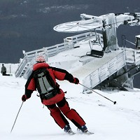 A new smartphone app is allowing skiers to monitor their performance