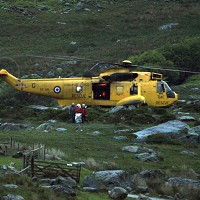 Search and rescue helicopters have been looking for Mr Esbester