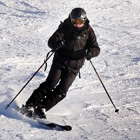 Skiers have been reminded to keep safe on the slopes during the February half-term break