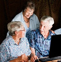 Older people who use the internet can take advantage of numerous travel offers, including flights, accommodation and insurance