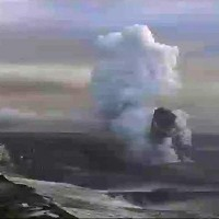 In this image from television a plume is seen rising from the Grimsvotn volcano in Iceland. Professor Sir John Beddington will head a peer review group to improve the way the country deals with any future volcanic ash clouds.