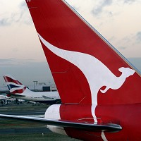 Rats found in a cabin compartment on a Qantas jet forced the flight to be grounded