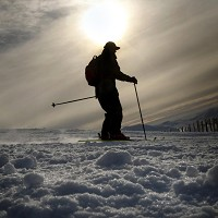 The avalanche caused problems for Britons on skiing holidays