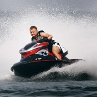 It is advised to let someone know when you go out on a jet ski in case something unfortunate occurs