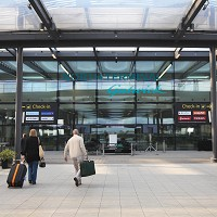 Gatwick Airport passengers have been left without their luggage after a power cut