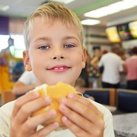 Fast food can be a convenient option for families when travelling