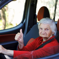 Over 200 people aged 100 or over hold valid driving licences