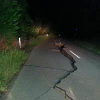 A major earthquake struck New Zealand's south Island early Monday