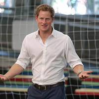 Prince Harry is currently on a tour of Brazil