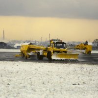 Liverpool John Lennon Airport temporarily halted flights due to the severe weather