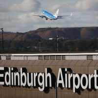 Edinburgh Airport has enjoyed a passenger boost