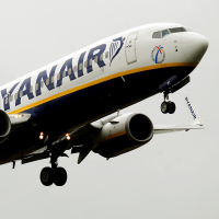 Ryanair became the first airline to carry more than 11 million passengers in one month