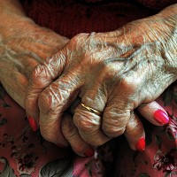 Nearly a third of older people with care needs do not receive help, a study says