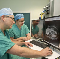 University of Edinburgh of doctors testing LiverMultiScan