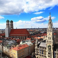 Munich welcomed more long-haul travellers at the start of the year