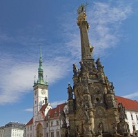 Horni Namesti in Olomouc is filled with stunning architecture