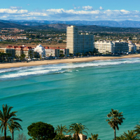 Britons are still favouring Spanish beaches