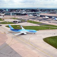 It is busier than it has ever been at Manchester Airport