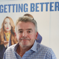 Michael O'Leary says the changes 'eliminate all risk'