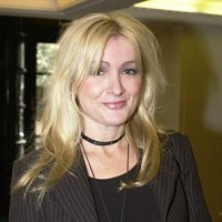 Actress Caroline Aherne was diagnosed with a rare form of eye cancer as a baby