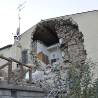 Fortunately, there were no fatalities during Italy's strongest earthquake in 36 years
