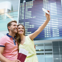 Could airport romance bloom?