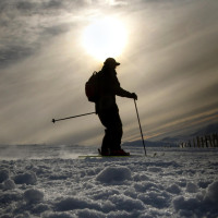 Safety advice has been offered to winter sports fans