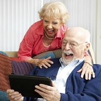 Three times as many older people are going online now than two years ago