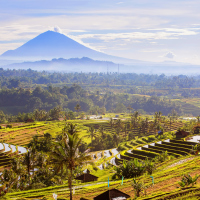 The Indonesian island of Bali has emerged as a luxury hotspot