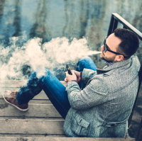E-cigs are said to be 95% less harmful than smoking