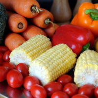 The so-called Med diet is rich in fresh vegetables