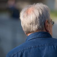 Scientists have suggested that going grey might be linked to heart disease