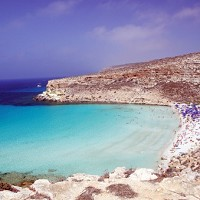 Rabbit Beach in Lampedusa