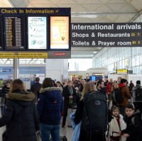 Dozens of flights have been grounded at Stansted