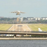 Flight paths to and from London City airport are being altered