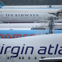 Almost a quarter of a million flights were delayed in just one year